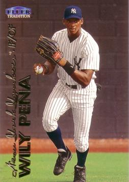 1999 Fleer Update Wily Mo Pena Rookie Card