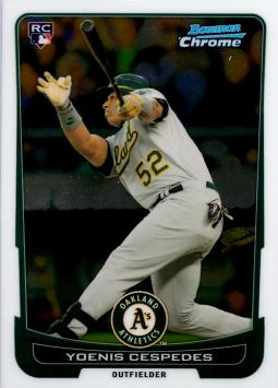 Yoenis Cespedes Bowman Chrome Rookie Card