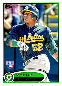 Yoenis Cespedes Topps Rookie Card