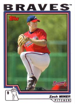 2004 Topps Zach Miner Rookie Card