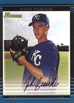 Zack Greinke Rookie Card