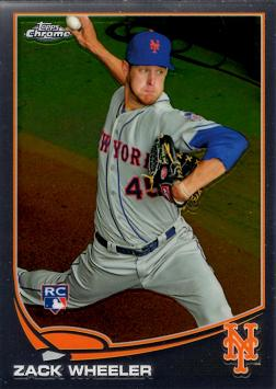 Zack Wheeler Rookie Card