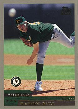 Barry Zito Rookie Card