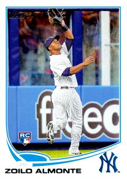 2013 Topps Update Zoilo Almonte Rookie Card