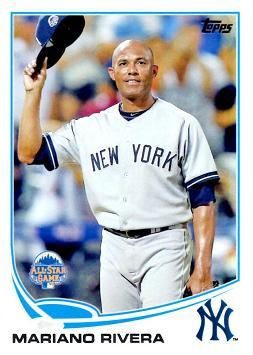 Mariano Rivera Final All-Star Game Baseball Card