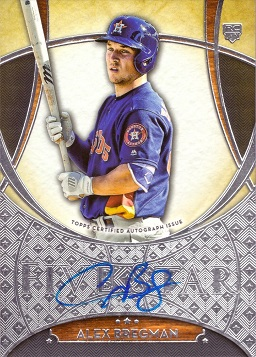 Alex Bregman Autograph Rookie Card