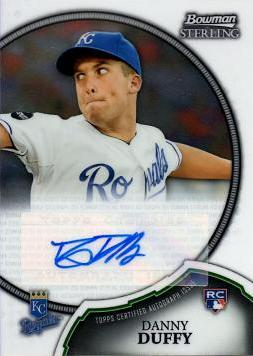 Danny Duffy Certified Autograph Rookie Card