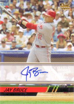 Jay Bruce Authentic Autograph Card