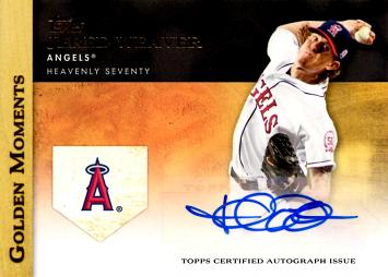 Jered Weaver Certified Autograph Card
