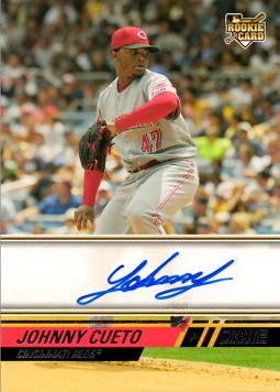 Johnny Cueto Autograph Rookie Card