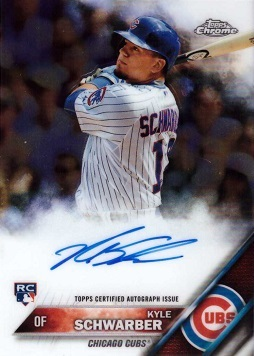 Kyle Schwarber Autograph Rookie Card