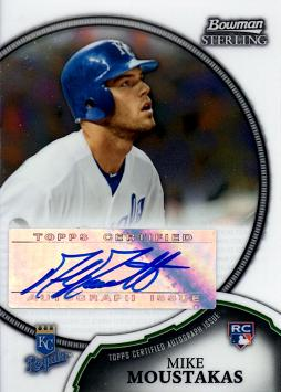 Mike Moustakas Certified Autograph Rookie Card