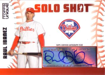 Raul Ibanez Authentic Autograph Card