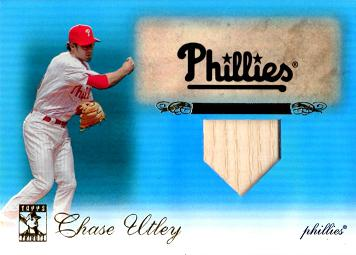 Chase Utley Game Used Bat Card