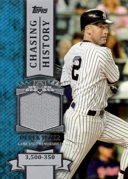 2013 Topps Derek Jeter Game Worn Jersey Card