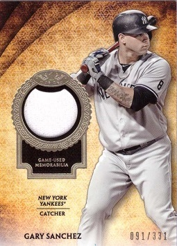 Gary Sanchez Jersey Card