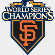 2010 Giants World Series Champions Rookie Card Team Set