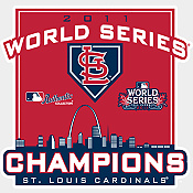 2011 Cardinals World Series Champions Rookie Card Team Set