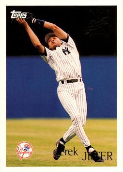 Derek Jeter 23 Years Of Topps Baseball Cards Complete Set