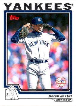 2004 Topps Derek Jeter Baseball Card