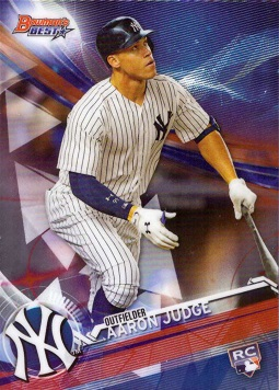 Aaron Judge 2017 Bowman's Best Rookie Card