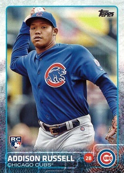 2015 Topps Update Addison Russell Rookie Card