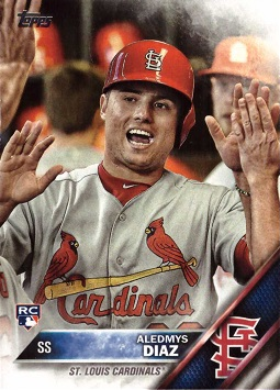 Aledmys Diaz Rookie Card