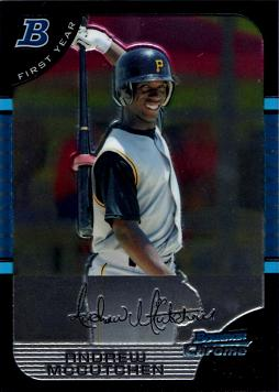 Andrew McCutchen Bowman Chrome Rookie Card