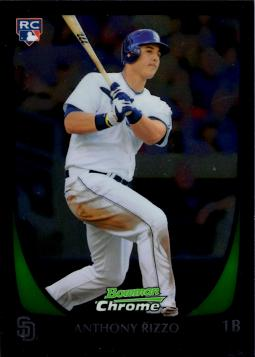 Anthony Rizzo Bowman Chrome Rookie Card