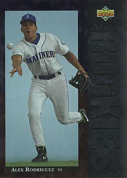 Alex Rodriguez Rookie Card
