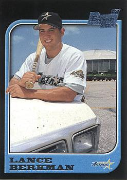 Lance Berkman Rookie Card