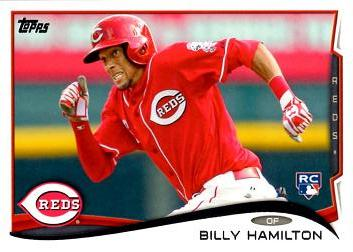 Billy Hamilton Rookie Card