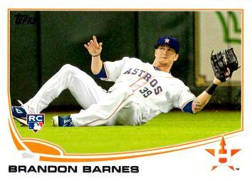 Brandon Barnes Rookie Card