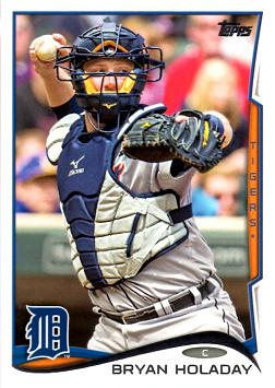 Bryan Holaday Rookie Card