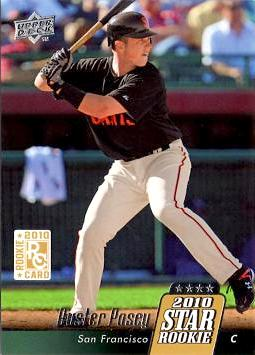 Buster Posey Upper Deck Rookie Card