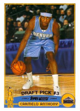 Carmelo Anthony Rookie Card