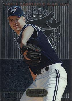 1995 Bowman's Best Chris Carpenter Rookie Card