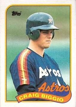 Craig Biggio Rookie Card