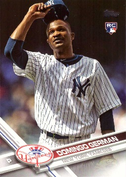 Domingo German Rookie Card