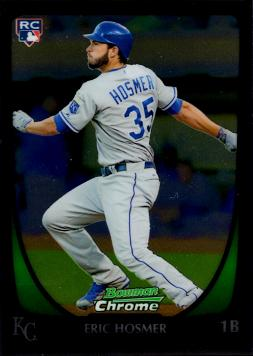 Eric Hosmer Bowman Chrome Rookie Card