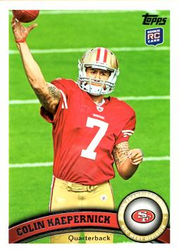 Colin Kaepernick Rookie Card
