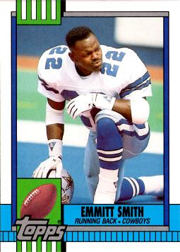 Emmitt Smith Rookie Card