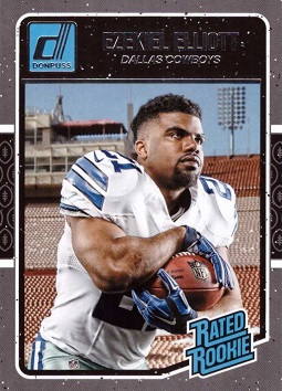 Ezekiel Elliott Rookie Card
