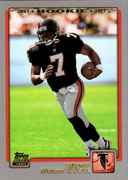 Michael Vick Rookie Card