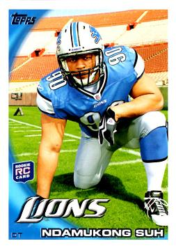 Ndamukong Suh Rookie Card