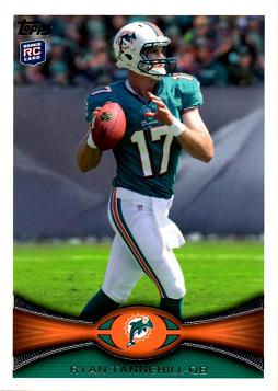 Ryan Tannehill Rookie Card