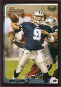Tony Romo Rookie Card
