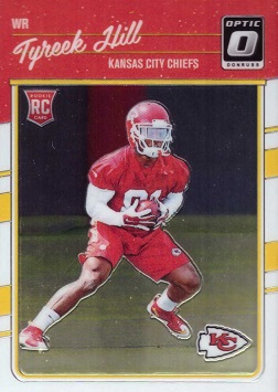 Tyreek Hill Rookie Card