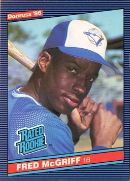 Fred McGriff Rookie Card