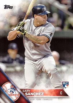 Gary Sanchez Rookie Card